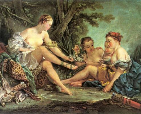Francois-Boucher-Diane-apres-chasse-divertissement