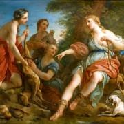 Francois-Le-Moyne-1688-1757-Diane-chasse-necessite