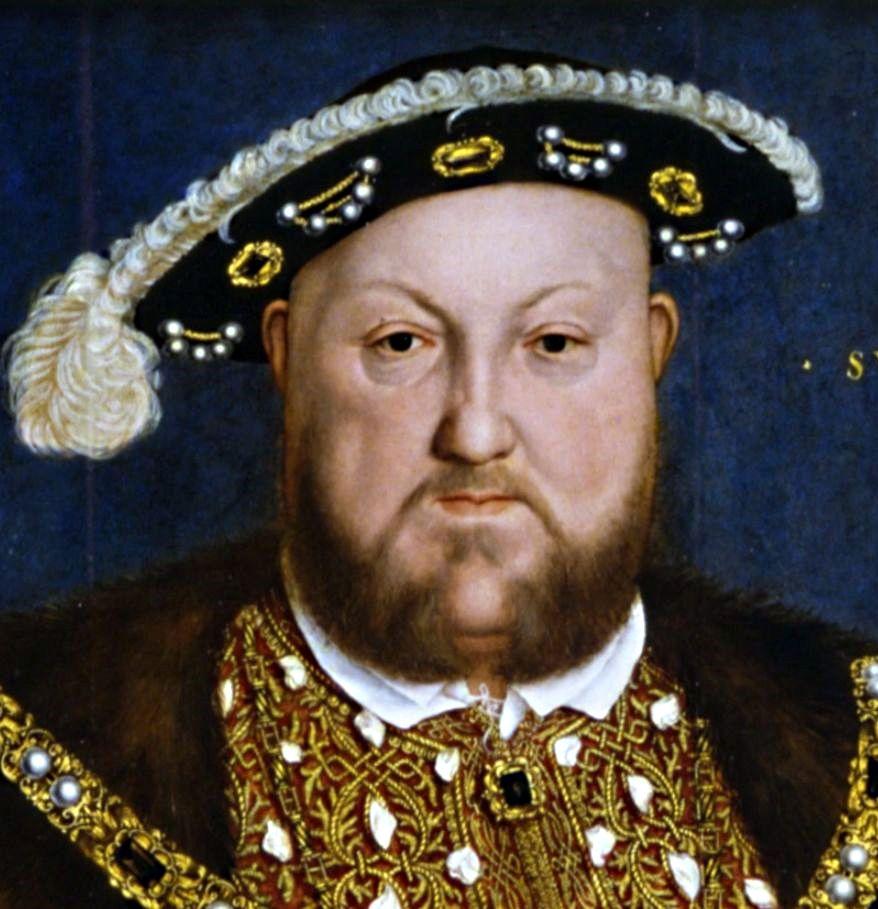barbe Henri VIII d'Angleterre